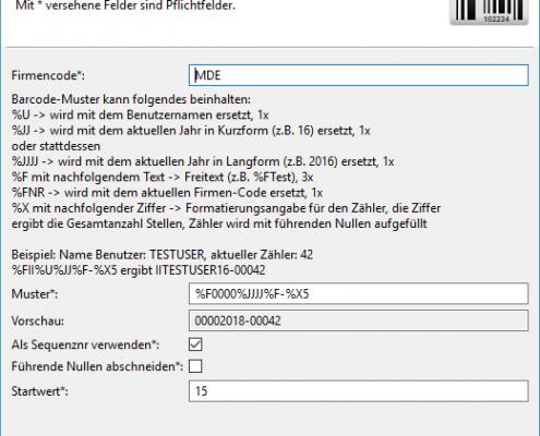 Rechnungseingangsworkflow Barcode Verwaltung